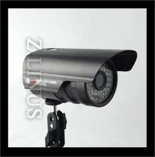 Security Outdoor IR Color CCTV Camera Wide Angle Lens