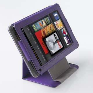 360 Degree View Flip PU Leather Case for  Kindle Fire 7 Tablet