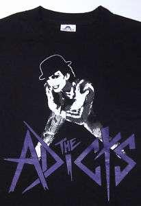 ADICTS ADX Mens T shirt Punk Rock Band Tee New Sz2XL XXL Black