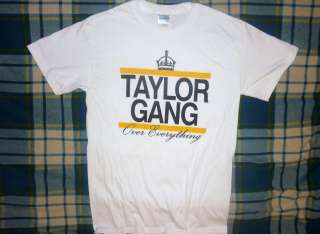 PITTSBURGH WIZ KHALIFA RAP HIP HOP TAYLOR GANG OVER EVERYTHING T SHIRT