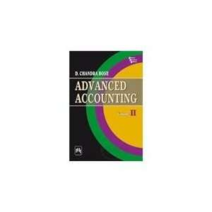 Advanced Accounting (9788120339460): Chandra Bose: Books