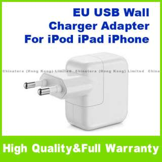 EU Europe USB Wall Charger Adapter for iPod iPhone D