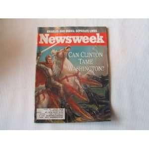 Newsweek November 30, 1992 (CHARLES AND DIANA SEPARATE
