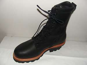 Red Wing # 4416 Logger Boots. Steel Toe. Insulated. Sizes 9D and 13D