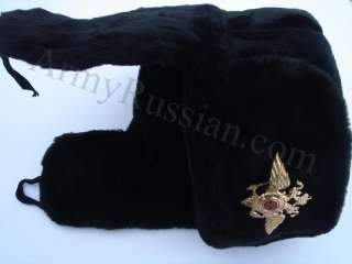 Russian Gift USSR Soldier Military Army Uniform Mens Winter Ushanka