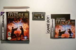 Star Wars Episode III Revenge Sith Game Boy Advance