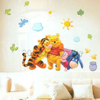 Winnie the Pooh Wall Decals Decor Nursery Stickers #63