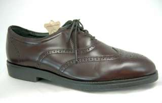 Iron Age Executive Mens Wing Tip Steel Toe Shoes 8 M