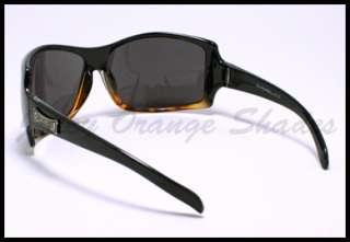 4f225fc519 ... Mens BIOHAZARD Oversize WRAP AROUND Fashion Sunglasses BLACK ...