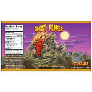 Ghost Pepper Hot Sauce  Grocery & Gourmet Food