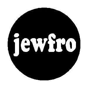 Jewfro 1.25 Magnet Jew Fro Jewish Humor: Everything Else