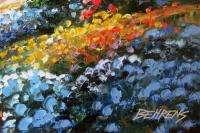Howard Behrens I Left My Heart Embell Canvas Bridge