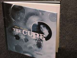 THE CURE ( Robert Smith ) After the Rain   HARDCOVER BOOK