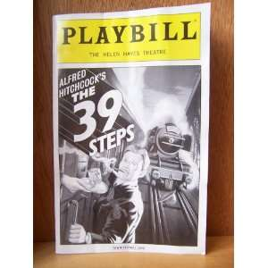The 39 Steps   Helen Hayes Theatre, NYC Playbill Magazine Books