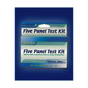 Multi Panel Home Drug Test Kit, Tests for 5 Drugs   Marijuana, Cocaine