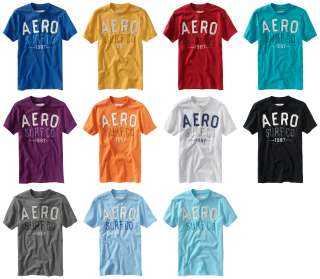 Aeropostale mens AERO SURF CO t shirt