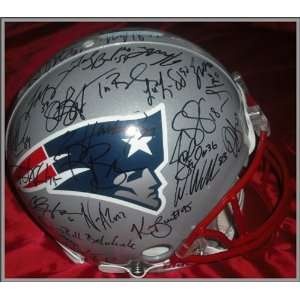 New England Patriots 2004 Superbowl Champions Autographed/Hand Signed