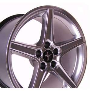 Ford Mustang Saleen Style Wheel Silver Wheels Rims 1994 1995 1996 1997
