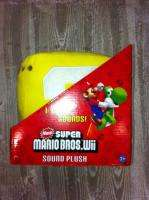 Licensed Super Mario Bros. Wii Question Mark Box Sound Plush Brand new