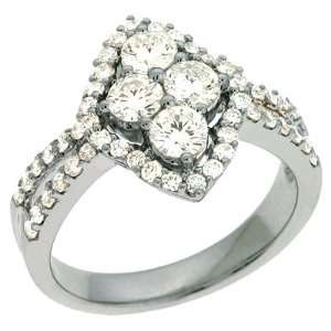 S. Kashi & Sons D3956WG White Gold Diamond Ring   14KW