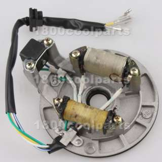 STATOR MAGNETO PLATE 70cc 90cc 110cc 125cc KICK START DIRT BIKE