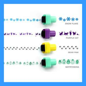 Kawaii Self Inking Rolling Stamp   Masking Roll Stamp