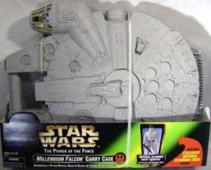 Star Wars Millennium Falcon Carrying Case With Exclusive Scanning Crew