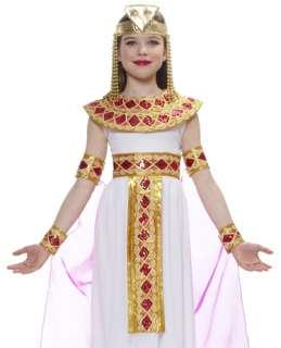 Kids Cleopatra Egyptian Princess Halloween Costume M