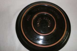 BMP BLUE MOUNTAIN POTTERY DISPLAY PLATE CHRISTMAS 1976
