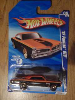 Hot Wheels 67 Pontiac GTO Faster than Ever new