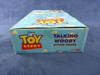 Thinkway Disney Toy Story Talking Woody Action Figure NIB WOW