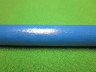 65 BLUE WOOD CRAFT WOODEN DOWEL WOOD ROD 5/8 x 15 3/8