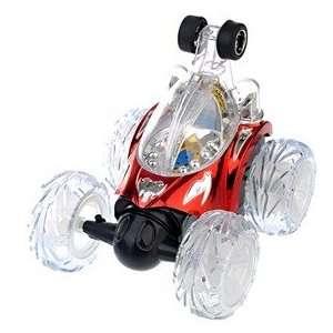 Remote Control Car, Electric Mini Invincible Tornado Toy Stunt Car