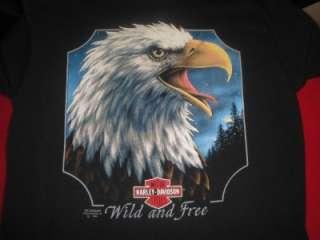 HD Vtg 1991 3D T Shirt Unworn L W/ Card Dealer Dealership Black