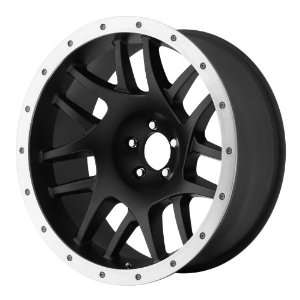 XD XD123 16x8 Black Wheel / Rim 5x5.5 with a 0mm Offset and a 108.00