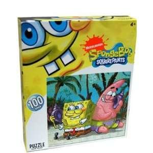 Nickelodeon SpongeBob Squarepants 100 Piece Puzzle, On the