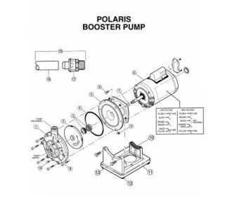 POLARIS P5 Booster Pump Volute Swimming Pool Cleaner