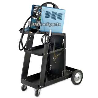 HD Welding Cart With Tank Storage MIG TIG ARC Plasma Cutter 3 Shelves