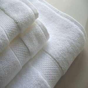 34x68 White Wholesale Bath Sheets Microcotton Dobby Border