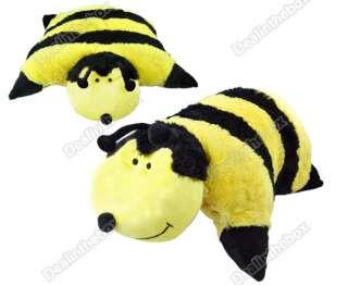 New Soft Panda/Ladybug/Penguin/Bumblebee Pet Plush Throw Pillow