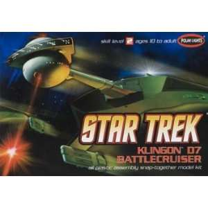 1/1000 Star Trek Klingon D7 Battlecruiser Toys & Games