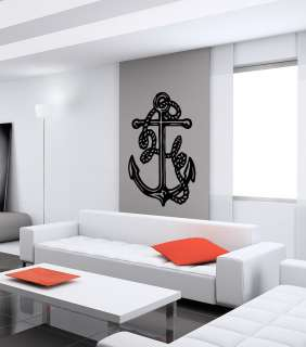 ANCHOR CUTE ABSTRACT DESIGN WALL VINYL STICKER DECALS ART MURAL D2113