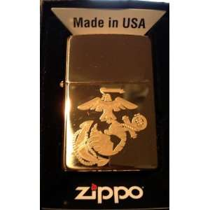 Zippo Custom Lighter   Usmc NEW Marines Military Armed Forces Seal