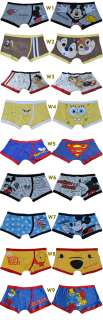 New Sexy Cartoon Boxer Brief Mens Underwear Size M L XL #W