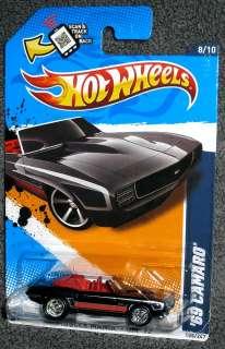2012 Hot Wheels `69 CAMARO Custom Made Super Treasure Hunt CUSTOM