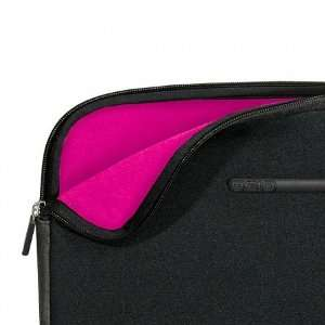 Neoprene Fashion Laptop Sleeve   Black/Pink / One Size Automotive