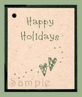 50 happy holidays hang tags from kimmeric studio est 1983