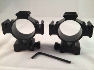 Ade Advanced Optics 35mm low Mounts for Rifle Scope Rings