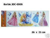 Window/Tile Wall Sticker Decal Barbie JDC 090B