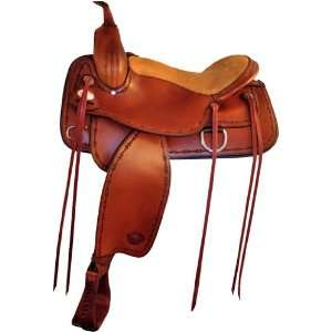 Tex Tan Montrose Trail Saddle   Flex Tree Sports